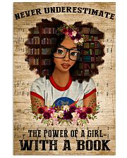 Power Of A Girl With A Book 11x17 Poster front