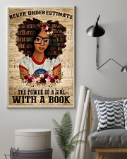 Power Of A Girl With A Book 11x17 Poster lifestyle-poster-1
