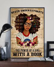 Power Of A Girl With A Book 11x17 Poster lifestyle-poster-2