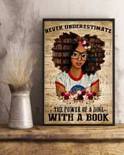 Power Of A Girl With A Book 11x17 Poster lifestyle-poster-3