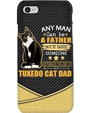 Tuxedo cat dad Phone Case i-phone-8-case