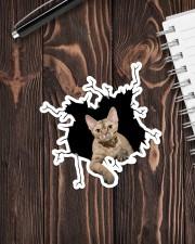 Devon Rex Sticker - Single (Vertical) aos-sticker-single-vertical-lifestyle-front-05