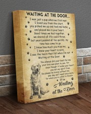 I'll be waiting at the Door Golden Retriever 11x14 Gallery Wrapped Canvas Prints aos-canvas-pgw-11x14-lifestyle-front-10