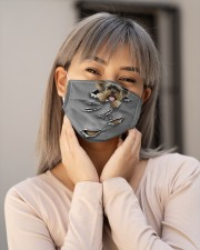 Yorkshire Terrier Cloth face mask aos-face-mask-lifestyle-17