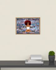 Yoga queen 24x16 Poster poster-landscape-24x16-lifestyle-09