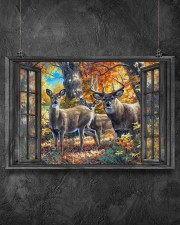 Deer 2 36x24 Poster aos-poster-landscape-36x24-lifestyle-11