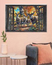 Deer 2 36x24 Poster poster-landscape-36x24-lifestyle-18