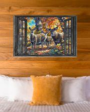 Deer 2 36x24 Poster poster-landscape-36x24-lifestyle-23
