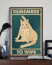 Remember To Wipe 11x17 Poster lifestyle-poster-2