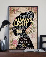 Amanda Gorman 11x17 Poster lifestyle-poster-2
