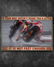 Your bike doesn't scare you a little 36x24 Poster aos-poster-landscape-36x24-lifestyle-11