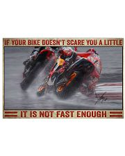 Your bike doesn't scare you a little 36x24 Poster front