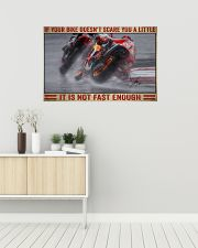 Your bike doesn't scare you a little 36x24 Poster poster-landscape-36x24-lifestyle-01