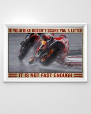 Your bike doesn't scare you a little 36x24 Poster poster-landscape-36x24-lifestyle-02