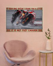 Your bike doesn't scare you a little 36x24 Poster poster-landscape-36x24-lifestyle-19