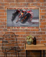Your bike doesn't scare you a little 36x24 Poster poster-landscape-36x24-lifestyle-20