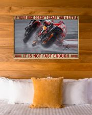 Your bike doesn't scare you a little 36x24 Poster poster-landscape-36x24-lifestyle-23