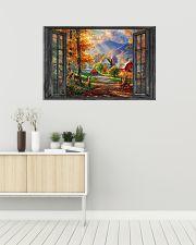 Deer 7 36x24 Poster poster-landscape-36x24-lifestyle-01