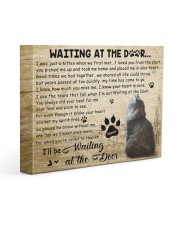 Jaspurr Will Be Waiting At The Door 14x11 Gallery Wrapped Canvas Prints front