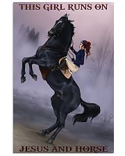 Horse girl 11x17 Poster front