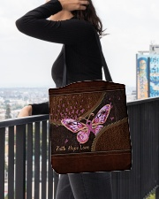 Faith hope love All-over Tote aos-all-over-tote-lifestyle-front-05