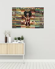 God says your are 36x24 Poster poster-landscape-36x24-lifestyle-01