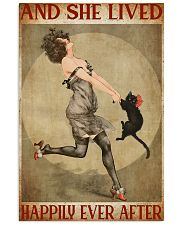 Girl And Her Cat 11x17 Poster front