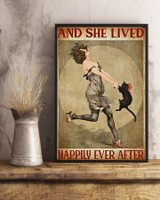 Girl And Her Cat 11x17 Poster lifestyle-poster-3
