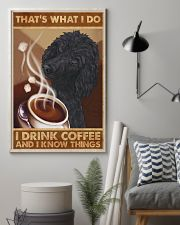 Poodle That's What I Do 11x17 Poster lifestyle-poster-1