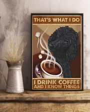 Poodle That's What I Do 11x17 Poster lifestyle-poster-3