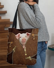 Pink Pig All-over Tote aos-all-over-tote-lifestyle-front-09