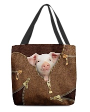 Pink Pig All-over Tote front