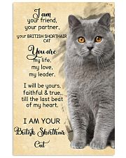 I Am British Shorthair 11x17 Poster front