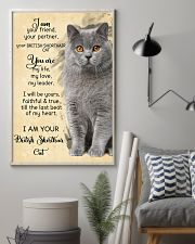 I Am British Shorthair 11x17 Poster lifestyle-poster-1