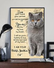 I Am British Shorthair 11x17 Poster lifestyle-poster-2