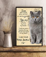 I Am British Shorthair 11x17 Poster lifestyle-poster-3