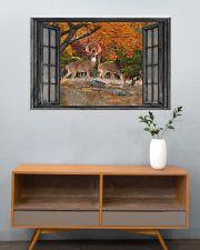 Deer 2 36x24 Poster poster-landscape-36x24-lifestyle-21