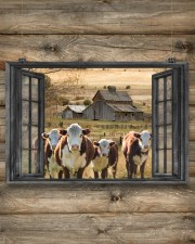 Hereford cattle 24x16 Poster aos-poster-landscape-24x16-lifestyle-15