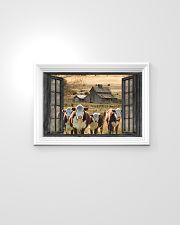 Hereford cattle 24x16 Poster poster-landscape-24x16-lifestyle-02