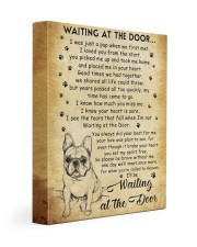 I'll be waiting at the Door 11x14 Gallery Wrapped Canvas Prints front