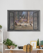 Deer 30x20 Gallery Wrapped Canvas Prints aos-canvas-pgw-30x20-lifestyle-front-03