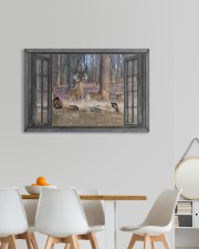 Deer 30x20 Gallery Wrapped Canvas Prints aos-canvas-pgw-30x20-lifestyle-front-05