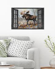 Deer 34 24x16 Poster poster-landscape-24x16-lifestyle-01