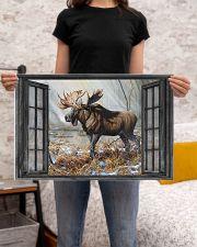 Deer 34 24x16 Poster poster-landscape-24x16-lifestyle-20