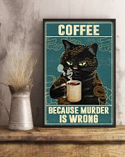 Coffee Because Murder Is Wrong 11x17 Poster lifestyle-poster-3