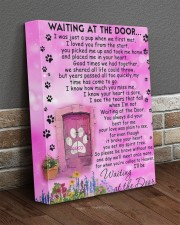 Coco is waiting at the door 11x14 Gallery Wrapped Canvas Prints aos-canvas-pgw-11x14-lifestyle-front-10