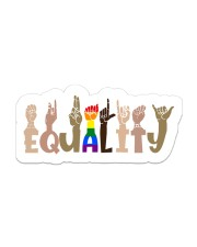 equality Sticker - Single (Vertical) front