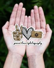 Peace Love Photography Sticker - Single (Horizontal) aos-sticker-single-horizontal-lifestyle-front-20