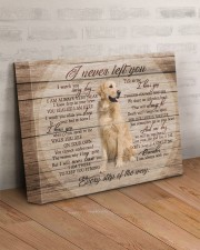 Golden Retriever I Never Left You 14x11 Gallery Wrapped Canvas Prints aos-canvas-pgw-14x11-lifestyle-front-07
