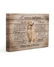 Golden Retriever I Never Left You 14x11 Gallery Wrapped Canvas Prints front